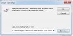 Continue Install Android USB Driver PC